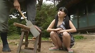 couple vaginal sex oral sex teen black-haired asian licking vagina cum shot japanese censored