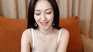 solo girl brunette small tits asian webcam lingerie bikini