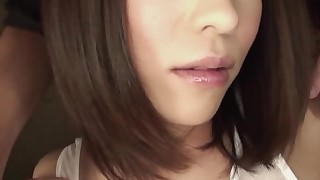 couple oral sex brunette big tits blowjob deepthroat bikini japanese hd