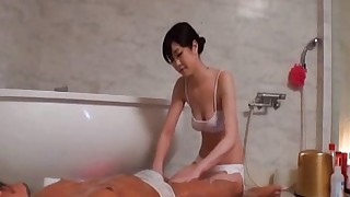 couple vaginal sex masturbation brunette asian hairy bathroom handjob japanese censored