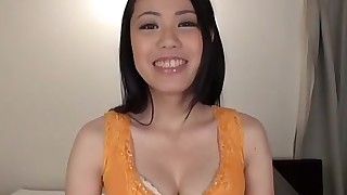 solo girl black-haired asian striptease japanese casting