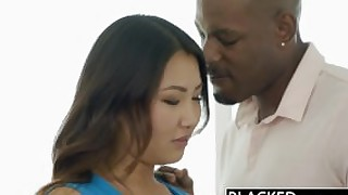 blacked bbc black big-cock interracial asian korean interview blowjob gag