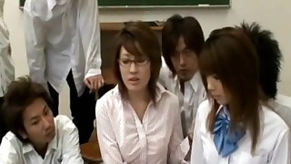 fuck schoolgirl teacher asian classroom japanese japan coed asian woman