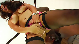 asian big black cock big tits blowjob hardcore interracial lingerie nylon pornstar stockings