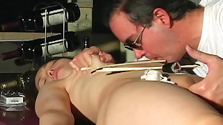 asian bdsm bondage domination fetish shaved pussy slave
