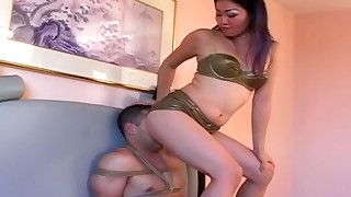 asian bondage facesitting femdom hd lingerie small tits smothering