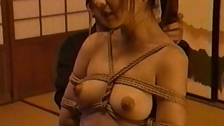 abused asian bdsm blowjob bondage rope schoolgirl