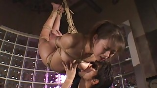 bdsm bondage compilation doggy style hairy hanging japanese riding small tits vibrator