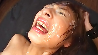 blowjob bukkake cum swallow hardcore hd japanese stockings