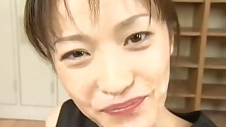 beauty blowjob bukkake compilation cum swallow japanese small tits