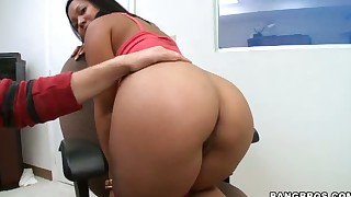 asian babes big dick blowjob brunette milf office
