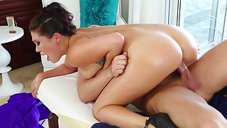 asian blowjob doggy style hardcore massage natural tits oil pornstar riding tattoo