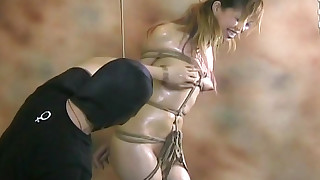 asian bdsm hanging bondage hd small tits