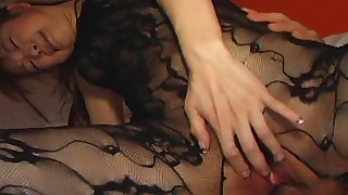 dildo fingering hairy hardcore japanese nylon pantyhose riding toys