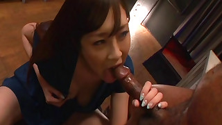 asian blowjob handjob japanese kitchen milf pornstar