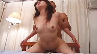asian bedroom blowjob cumshot hairy hardcore japanese panties small tits