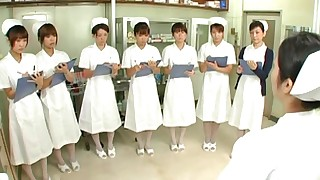 uniform cfnm handjob japanese nurse riding