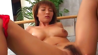 asian blowjob brunette cumshot fingering hardcore japanese natural tits piercing riding