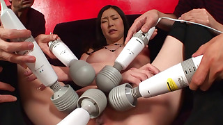 asian brunette gangbang hairy hardcore perfect body small tits sofa stockings toys