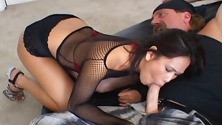 asian blowjob facial fishnet handjob pornstar small tits