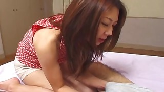 asian babes cumshot handjob japanese reality