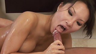 asian bathroom blowjob couple facial hd natural tits oil pornstar shaved pussy