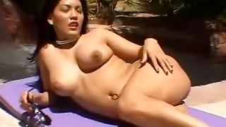 asian bikini blowjob facial hairy hd