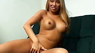 asian big tits high heels lingerie long hair masturbation sofa trimmed pussy