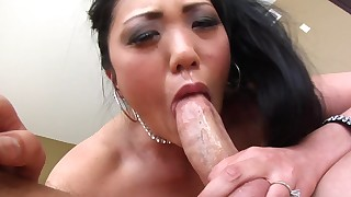 asian beauty blowjob cum in mouth lingerie mom perfect body pornstar