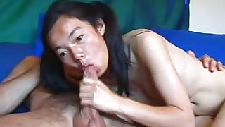 asian ass blowjob fingering natural tits pigtails riding shaved pussy solo girl