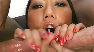 asian blowjob cum swallow cumshot doggy style hardcore milf pornstar shaved pussy small tits