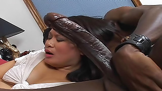 asian ball licking big black cock big dick black blowjob cumshot interracial milf
