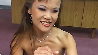 asian babes cumshot handjob natural tits perfect body pov