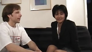 amateur asian blowjob hardcore japanese natural tits tattoo trimmed pussy