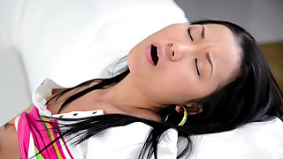asian ass babes dildo fingering shaved pussy solo girl toys