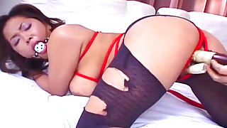 asian bdsm blowjob bondage creampie dildo gagging hardcore japanese pantyhose