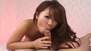 asian bed blowjob brunette cumshot hairy japanese small tits