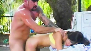 asian biker blowjob brunette doggy style hardcore missionary outdoor perfect body piercing