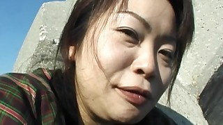 fingering japanese masturbation mature natural tits outdoor toys trimmed pussy upskirt vibrator