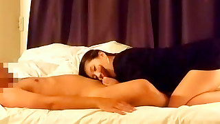 asian bedroom blowjob girlfriend homemade kissing pussy licking