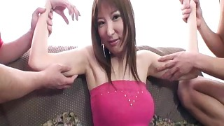 armpit japanese kissing mini skirt natural tits panties sofa