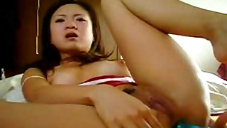 amateur asian babes bedroom solo toys trimmed pussy
