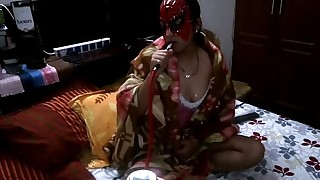 amateur asian big tits close up couple mask pussy licking shaved pussy smoking spread legs