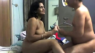 asian bed bedroom blowjob couple doggy style long hair mom natural tits pussy licking
